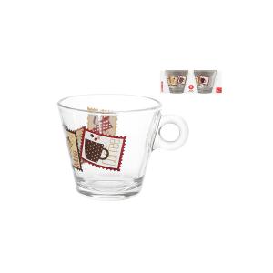 CERVE Confezione 2 Tè Senza Piatto Vetro Preparazione Arredo Tavola