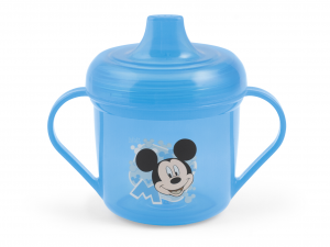 Set 6 LULABI Tazza In Polipropilene Secondi Sorsi Disney Mickey 3