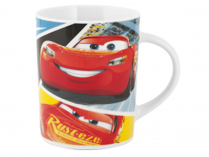 HOME Set 2 Mug In Porcellana Disney Cars 3 330 Cc