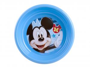 HOME Set 6 Piatti Polipropilene Disney Mickey2 Fondo Cm16 Arredo Tavola