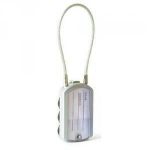 PACSAFE Lucchetto con indirizzo PROSAFE 400 grigio accessorio sicurezza viaggio