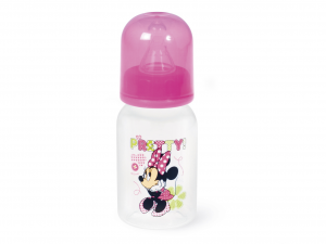 LULABI Biberon Polipropilene/Silicone Minnie Collo Stretto Ml120 Linea Bimbo