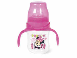 LULABI Biberon Polipropilene/Silicone Minnie Collo Largo Ml120 Linea Bimbo