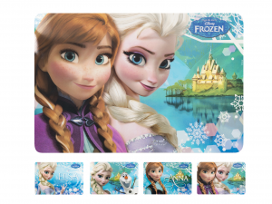 HOME Set 12 Tovaglietta Polipropilene Disney Frozen R