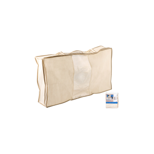 HOME Custodia biancheria tessuto non tessuto ecr├╣ 80x45 biancheria e oggetti