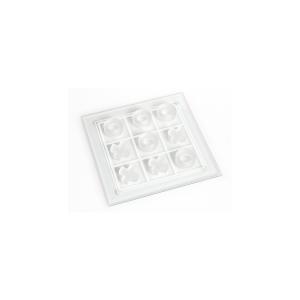CHIO Confezione tic tac toe vetro con piatto cm25 Arredo e decorazioni casa