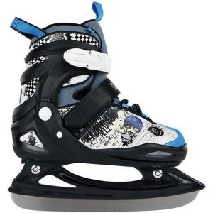 POWERSLIDE Pattini ghiaccio junior allungabili BILLY 880048 nero celeste