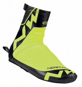 NORTHWAVE Copriscarpe ciclismo uomo ACQUA giallo fluo/nero