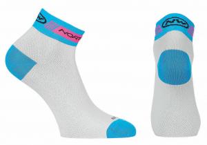 NORTHWAVE Calzini ciclismo donna PEARL WOMAN bianco/blu