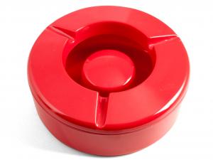 CHIO Posacenere melamina rosso antivento 12,5 Arredo e decorazioni casa