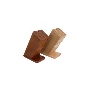 CAPER Ceppo porta coltelli vuoto legno scuro Utensili da cucina