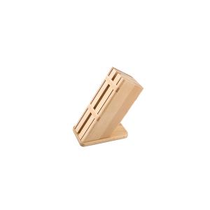 CAPER Ceppo porta coltelli vuoto legno chiaro Utensili da cucina