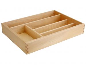 CAPER Portaposate 5ps in legno chiaro Riordino e Lavanderia