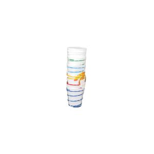 CAPER Confezione 6 porta bicchieri filo ferro colorato Utensili da cucina
