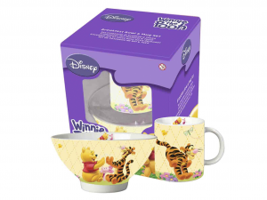 HOME Set Scodelle Mug Disney Winnie Preparazione Colazione Arredo Tavola