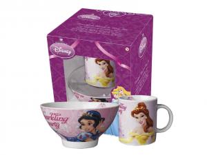 HOME Set Scodel Mug Disney Princess Preparazione Colazione Arredo Tavola