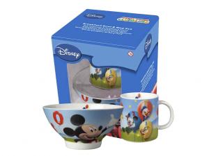 HOME Set Scodelle Mug Disney Mickey Preparazione Colazione Arredo Tavola