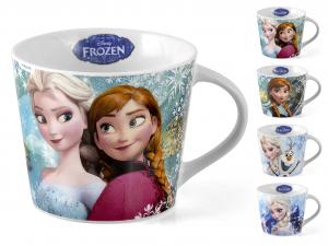 HOME Set 8 Tazzine Jumbo Porcellana Disney Frozen Senza Piatti Cc370 Arredo Tavola
