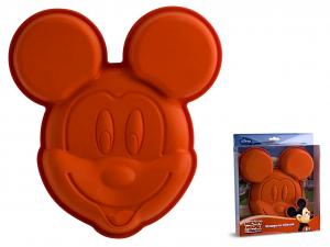 HOME Set 3 Stampi Silicone Disney Mickey Cm25 Pasticceria E Cake Design