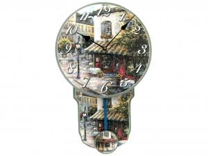 HOME Orologio Con Pendolo Bistro 29X45 Arredo E Complementi Casa