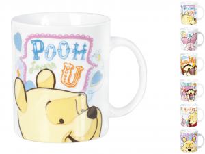 HOME Set 6 Mug Disney Winnie Pooh Cc300 Colazione Arredo Tavola