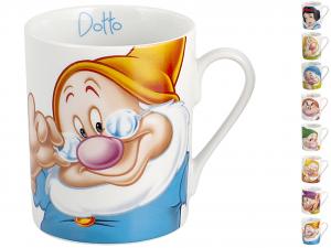 HOME Set 12 Mug Disney Settenani Cc340 Colazione Arredo Tavola