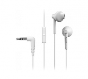 PANASONIC Rp-Tcm50E Bianco Auricolare Con Mic Cuffie Microfoni Auricolari