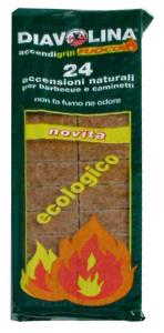 DIAVOLINA Ecologica X 24 cubi - Articoli per pic-nic