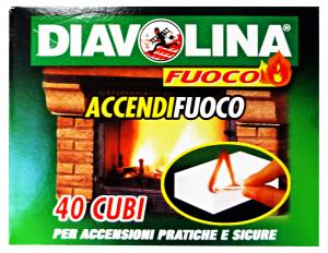 DIAVOLINA Accen.X 40 cubi - Articoli per pic-nic