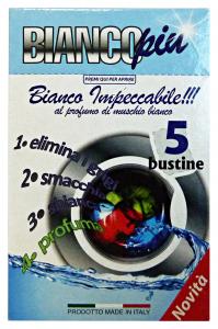 ARCOBALENO SalvaCOLOR Bianco X 5 Bustine Detergenti Casa