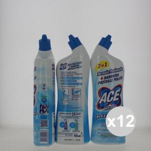 Set 12 ACE Wc Gel Brezza Marina 700 Detergenti Per Wc Pulizia della casa Detersivi