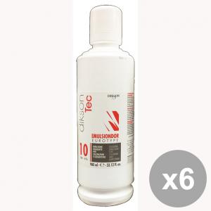 Set 6 DIKSON Acqua Emulsione EMULSINDOR 10 VOL. 980 Ml. Prodotti per capelli