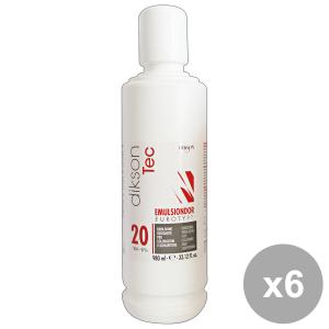 Set 6 DIKSON Acqua Emulsione EMULSINDOR 20 VOL. 980 Ml. Prodotti per capelli