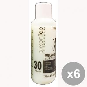 Set 6 DIKSON Acqua Emulsione EMULSINDOR 30 VOL. 250 Ml. Prodotti per capelli