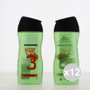 Set 12 ADIDAS Doccia 250 3In1 Active Start Prodotti per bagno e doccia