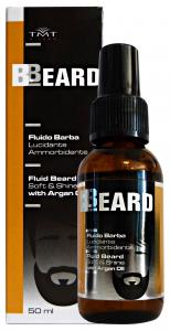 BBEARD Fluido Barba Lucidante Ammorbidente 50 Ml. Prodotti per Barba
