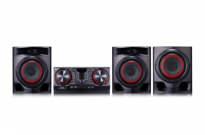 LG Cj45 Hi-Fi Mini 720W Tv Sync Sub Bluetooth Microfono Home Theater