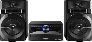 PANASONIC Sc-Ux100E-E Hi-Fi Mini Cd Usb Mp3 Rds Aux 300W Home Theater