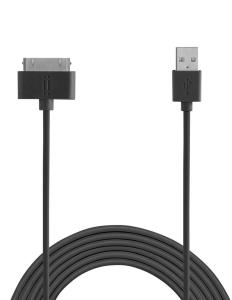 AIINO 30 Pin Apple TPE Cavo 1,5 m - Nero