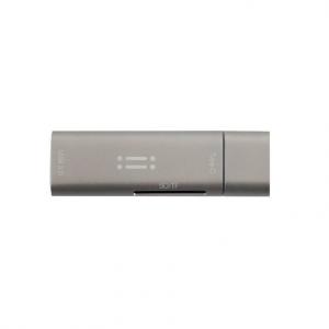 AIINO 4 in 1 USB-C + SD/TF lettore di schede + USB 3.0 - Grigio spaziale