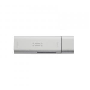 AIINO 4 in 1 USB-C + SD/TF lettore di schede + USB 3.0 - Argento