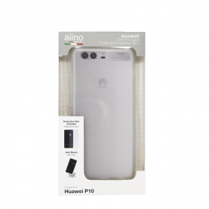 AIINO Gumshell cover per Huawei P10 - Trasparente