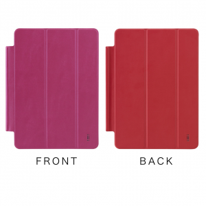 AIINO Custodia Three Cover per iPad Air 2 - Hot Rosa/Red