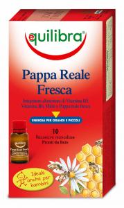 EQUILIBRA Pappa reale fresca * 10 flaconi - prodotti alimentari