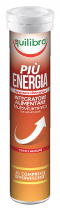 EQUILIBRA Pi├╣ energia effervescente * 20 caps - prodotti alimentari