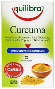 EQUILIBRA Curcuma * 20 caps - prodotti alimentari