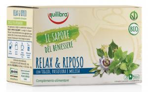 EQUILIBRA Tisana Bio Relax & Riposo 20 Buste Treb Bevanda A Infusione