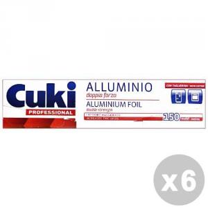 CUKI Set 6 CUKI Alluminio doppia forza 150 mt. - sacchetti per alimenti