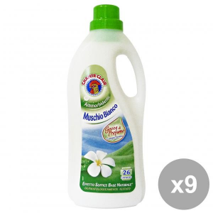 CHANTE CLAIR Set  9 Ammorbidente 26 Mis.Muschio Bianco Detergenti Casa