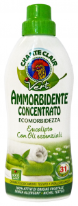 CHANTE CLAIR Ammorbidente Concentrato Eco.Eucalip Wooliteto 625 Ml. Detergenti